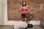 Spanish Ballbusting Teen