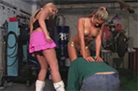 Mistresses Beating Slave