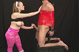 Dominatrix Handjob Video