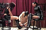 Boots MIstress Cock Torture