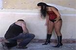 Mistress Slapping Slave